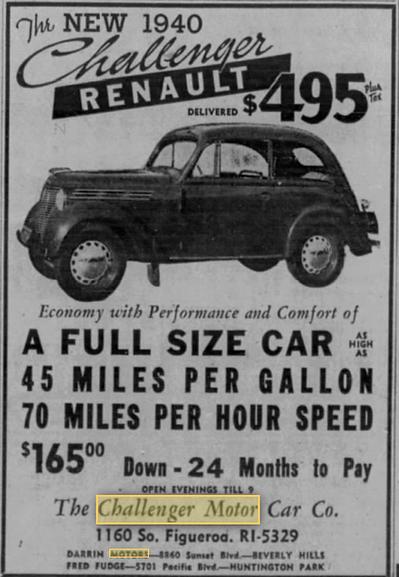 LA times sep 1939 Renault.png