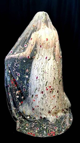 Our DeVine veil now comes in chapel and
