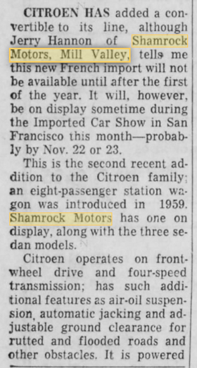 San Rafeel Daily Indep journ Nov 1960.pn
