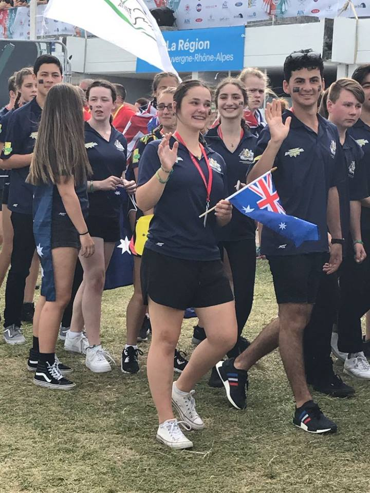 Marist Dragons - World Nations 2017 Gen, Amelia and Jacob