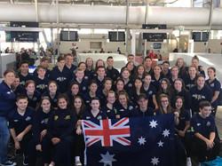 Auroras World Nations 17 - Training Camp
