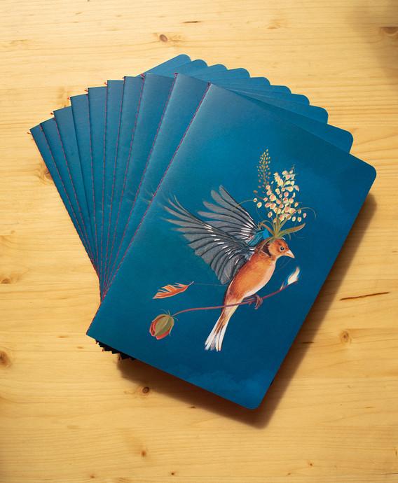 Modelo Huir del nido (Azul de Prusia)
