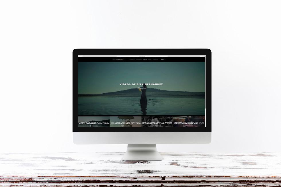 Diseño web Sira Hernández
