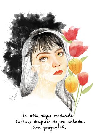 Como los tulipanes
