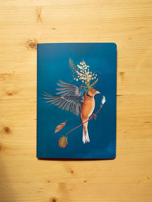 Huir del nido (Azul de Prusia)