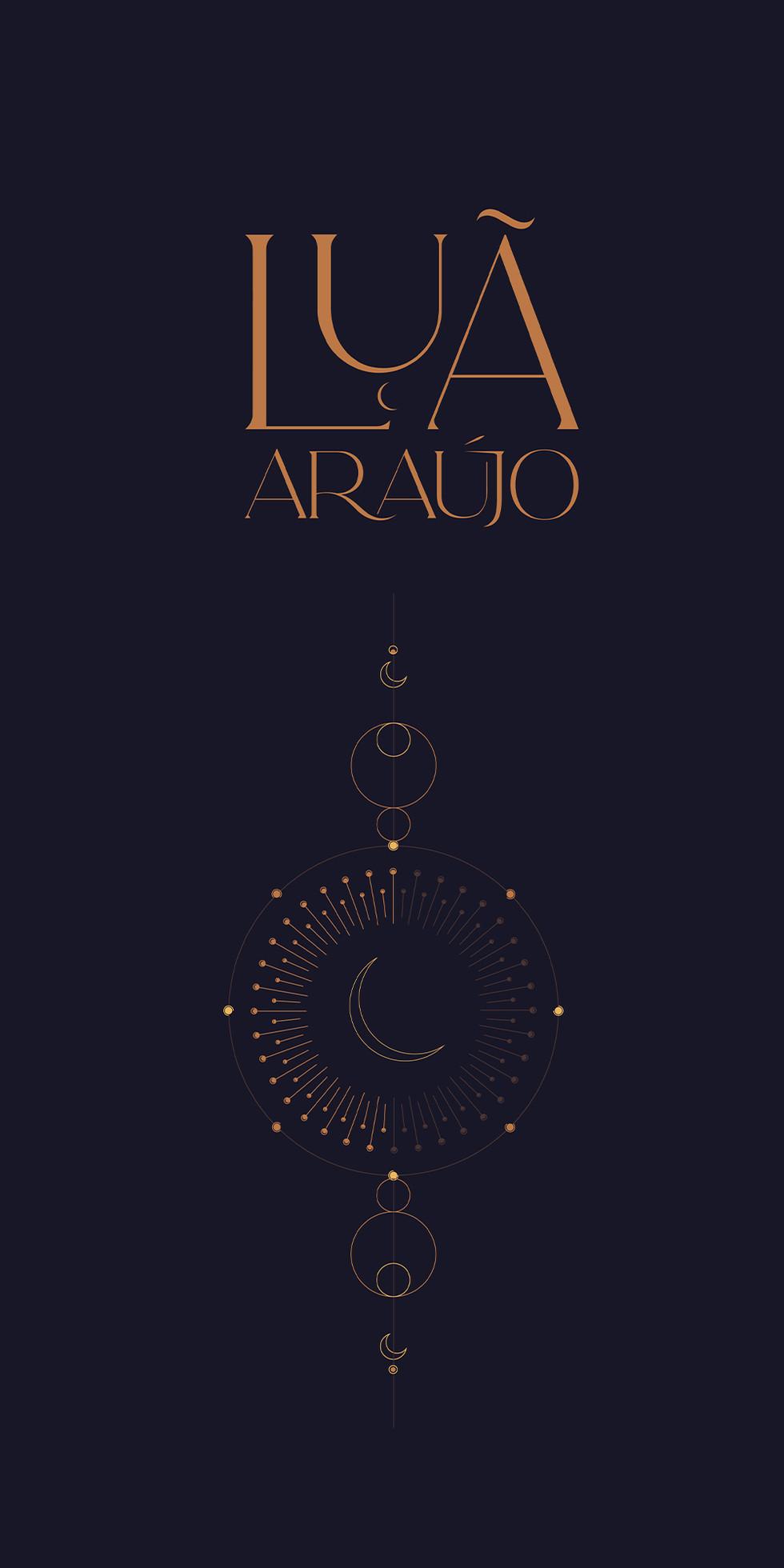 Diseño logo Luã Araujo