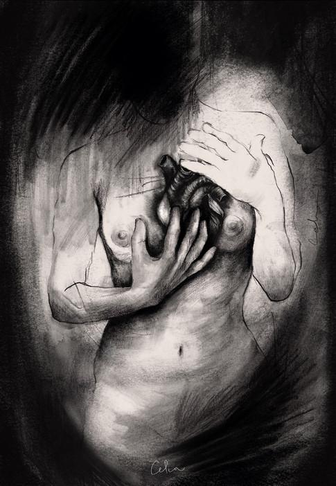 El arte de no hablar corazon sangre