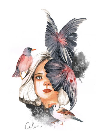 Las aves como notas