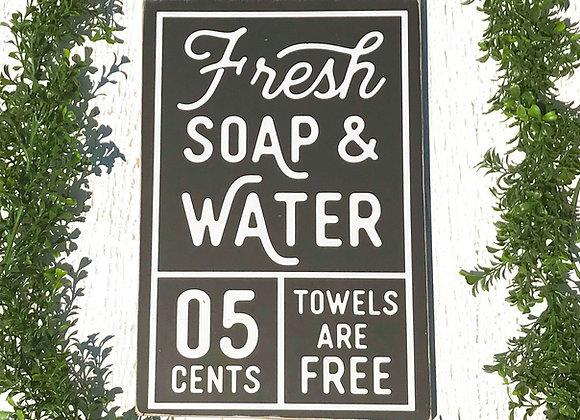 Fresh Soap & Water