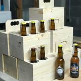 Pack de bière en epicea