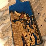 planche noyer/epoxy