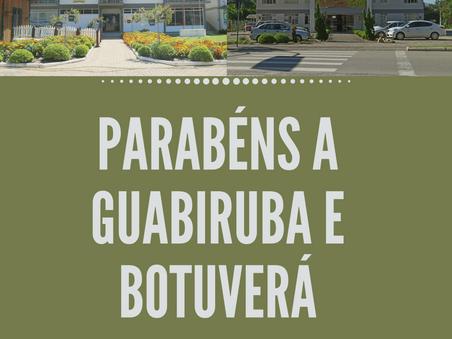 Botuverá e Guabiruba celebram aniversário essa semana