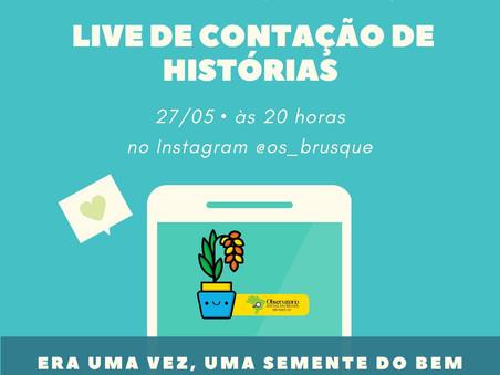 """Live """"Era Uma Vez, Uma Semente do Bem"""""""