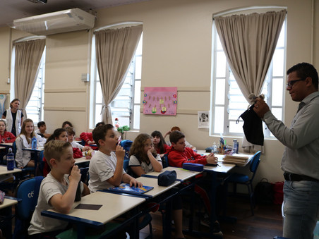 Aplicação do Observador Social Mirim no Colégio Cônsul Carlos Renaux