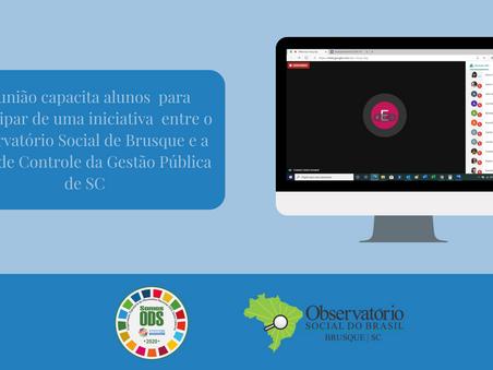 Iniciativa do Observatório Social de Brusque e da Rede de Controle da Gestão Pública de SC