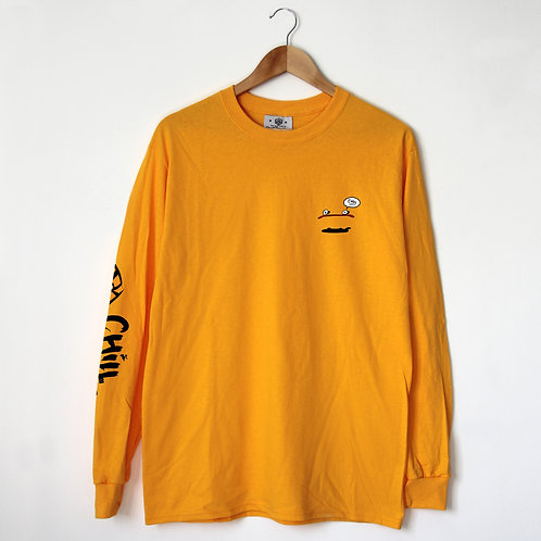 CHILL TIGER Long Sleeve Shirt
