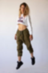 women jumping studio shooting sweatshirt croptop urban street fashion barcelona