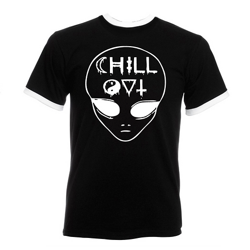 Chill Out Ringer T-shirt