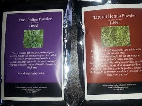 Henna & Indigo Powder 200g