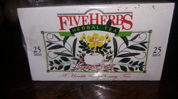 FIVE HERBS TEA
