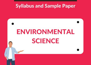 GATE 2021 Environmental Science - Syllabus and Sample Paper