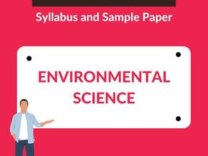 GATE 2021 Environmental Science - Syllabus and Sample Paper