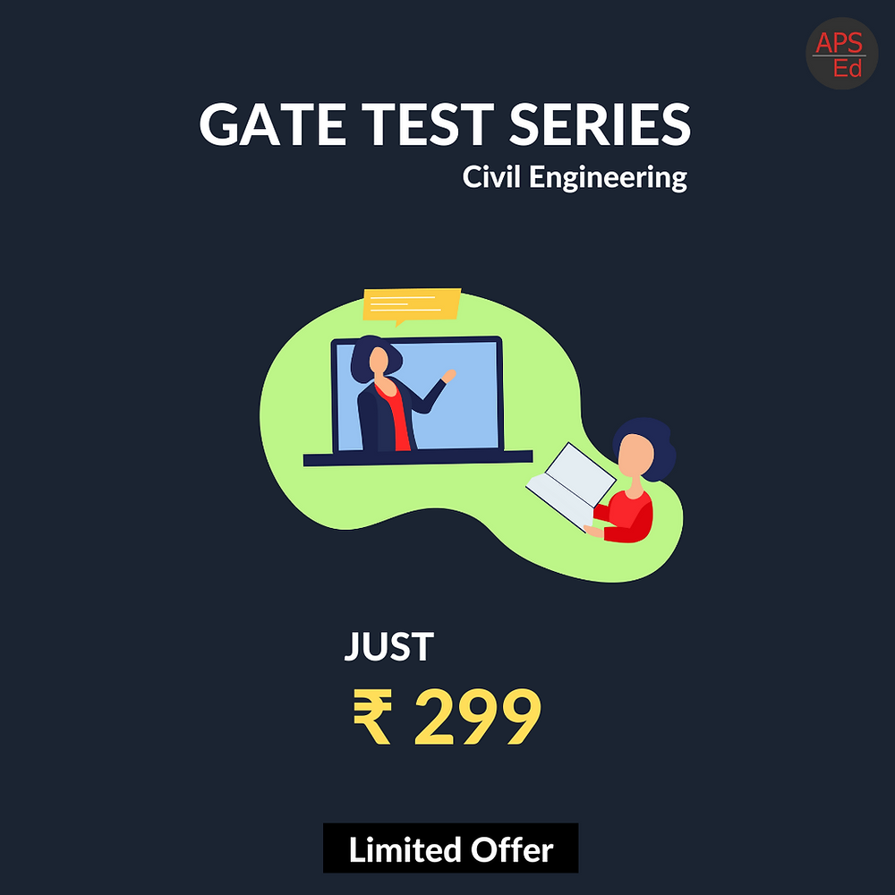 GATE Test Series for Civil Engineering