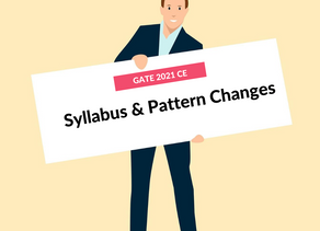 Syllabus and Pattern Changes: GATE 2021 CE (Civil Engineering)