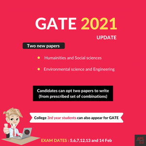GATE 2021 Update: Third-year students can appear for GATE now