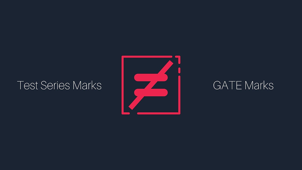 Is test series marks equal to GATE marks?
