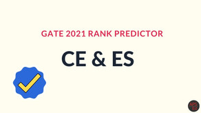 GATE Rank Predictor 2021 for Civil Engineering & Environmental Science
