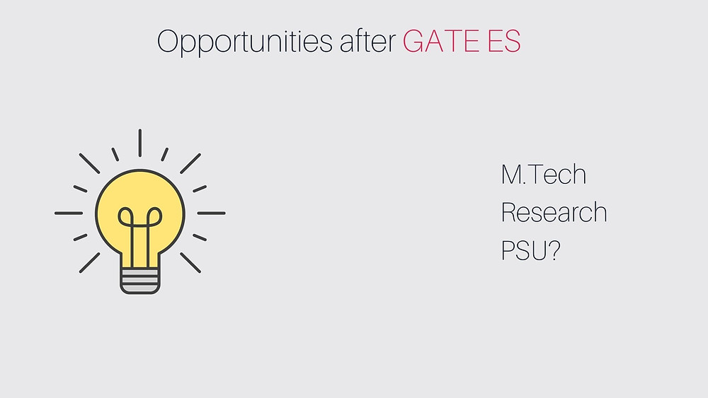 Opportunities after GATE Environmental Science