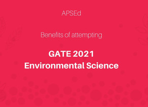 What are the benefits of attempting GATE Environmental Science (ES)?