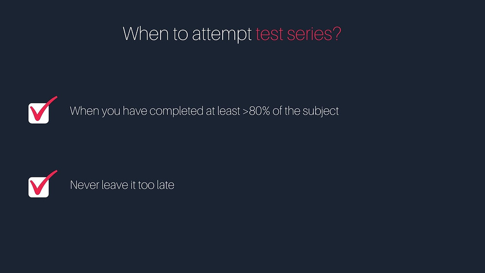 When to attempt GATE Test Series?