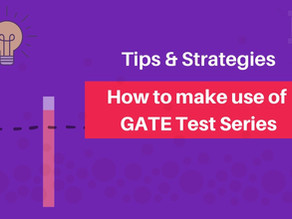 How to make use of GATE Test Series?