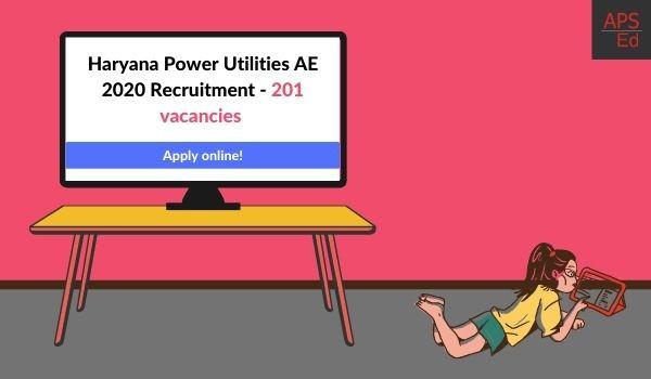Haryana Power Utilities AE 2020 Recruitment - 201 vacancies