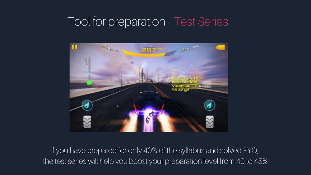 Test Series is a tool for GATE preparation