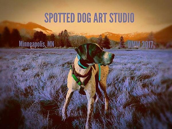 Samson, the spotted dog. Washington, 201