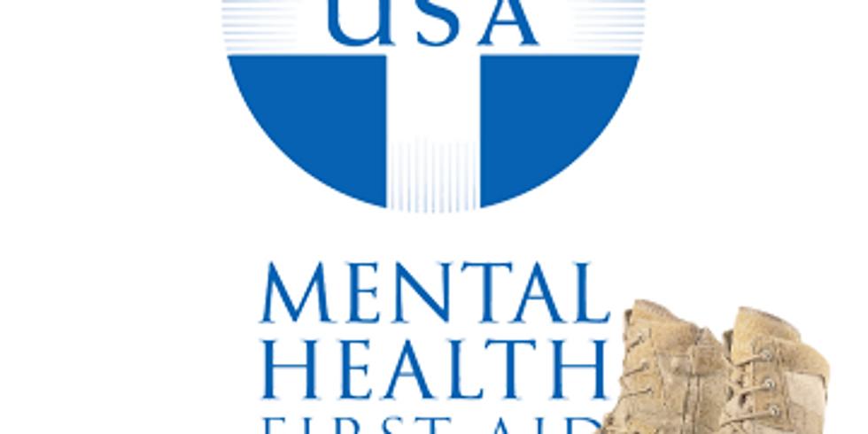 Veteran Mental Health First Aid