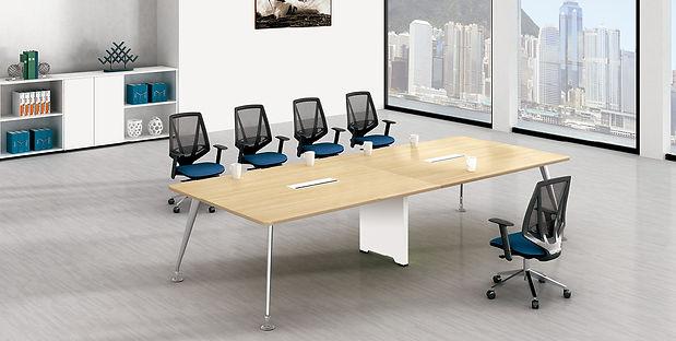 Desk furniture in office settings