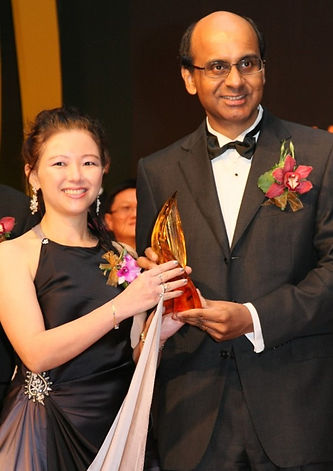 tharman Shanmugaratnam award ceremony im space