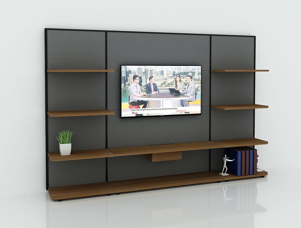 Innoplan's wall display unit render