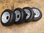 Trailer wheels and tyres