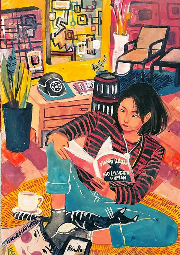 reading osamu dazai