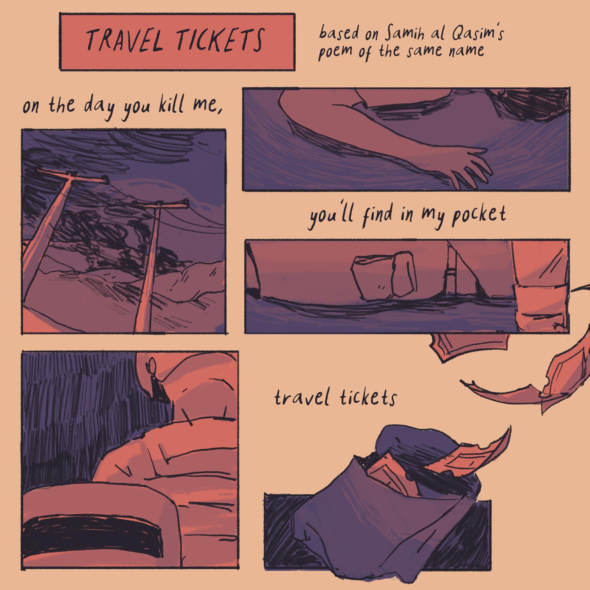travel tickets