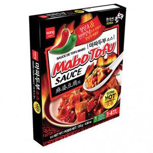 WANG Mabo Tofu Sauce Extra Hot 4.58 oz
