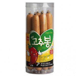 WANG Fish Cake Sausage Hot Pepper 10x1.2 oz