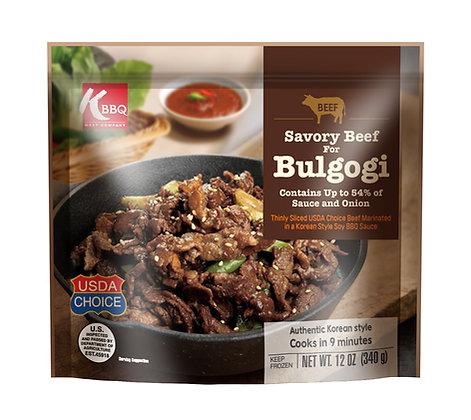 Savory Beef Bulgogi
