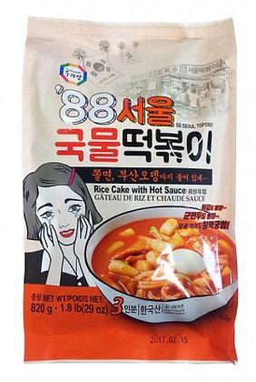 SURASANG Tteokbokki w/ Chewy Noodle & Fish Cake 1.8 Lb