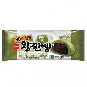WANG Red Bean Bun Mugwort 9 oz